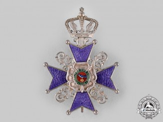 Lippe, Principality. A Leopold Order, II Class Cross (Collectors Copy)