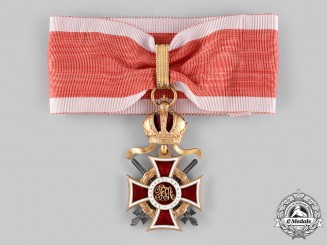 Austria, Imperial. An Order of Leopold, Commander Cross with Lower Grade War Decoration & Swords (Rothe Copy)