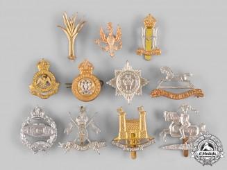 United Kingdom. A Lot of Eleven Regiment Badges (Collectors Copies)
