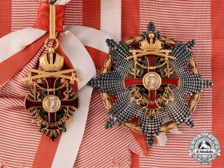 Austria, Imperial. An Order of Franz Joseph, Grand Cross with Swords & War Decoration (Rothe Copy)