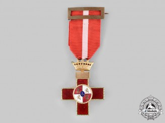 Spain, Franco. An Order of Military Merit, I Class Cross, Red Distinction c.1950