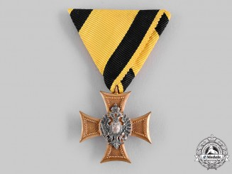 Austria, Empire. A Military Long Service Decoration, III Class for Officers for Twenty-Five Years' Service, c.1913