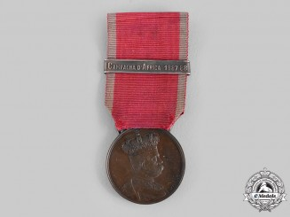 Italy, Kingdom. An Africa Campaigns Medal, 1887