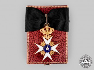 Sweden, Kingdom. An Order of the North Star, II Class Commander in Gold, by C.F.Carlman, c.1945