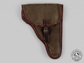 Germany, Wehrmacht. A Model 1944 Luger Pistol Holster