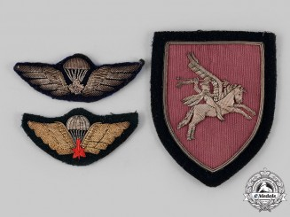 United Kingdom, Canada. Three Parachute Regimental Badges