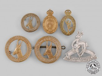 South Africa, Republic. A Lot of Six Badges