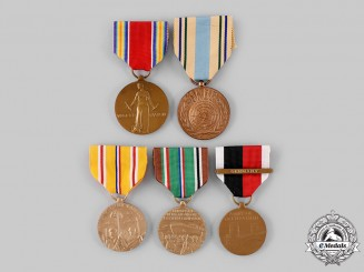 United States. Five Medals