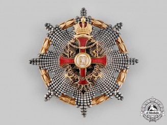 Austria, Empire. An Order of Franz Joseph, Commander's Star with War Decoration (Rothe Copy)