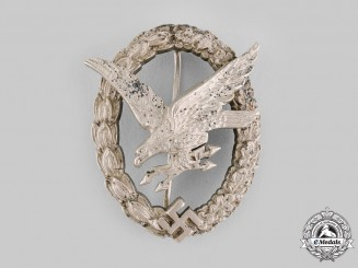 Germany, Luftwaffe. A Radio Operator & Air Gunner Badge by Imme & Sohn