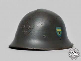 Sweden, Kingdom. An M21 Helmet