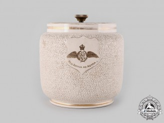 United Kingdom. A Royal Flying Corps Tobacco Jar, by Macintyre for Twining