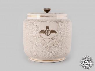 United Kingdom. A Royal Flying Corps Tobacco Jar, by Macintyre for Twining