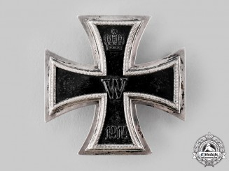 Germany, Imperial. A 1914 Iron Cross I Class by the Stuttgart Mint