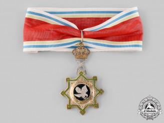 Jordan, Kingdom. An Order of the Falcon, Commander, c.1950
