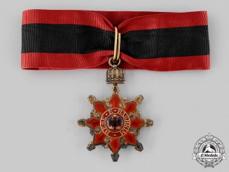 Albania, Kingdom. An Order of the Black Eagle, Commander, c.1914