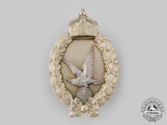 Germany, Luftstreitkräfte. A Prussian Air Gunner Badge, by Paul Meybauer