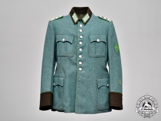 Germany, Schutzpolizei. A Protection Police EM/NCO's Service Tunic