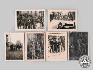 Germany, SS. A Lot of Photographs of SS Personnel