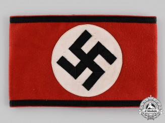 Germany, SS. A Schutzstaffel (SS) Member's Armband