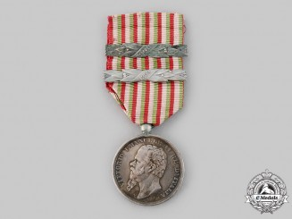 Italy, Kingdom. A Medal for the Wars of Independence & the Unity of Italy, 2 Clasps, c.1866
