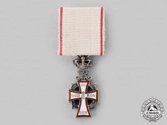 Denmark, Kingdom. An Order of Dannebrog, Miniature, c.1955