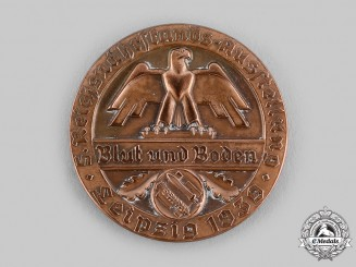 Germany, Third Reich. A Reichsnährstands Exhibition Table Medal for Fresh Butter, c.1939