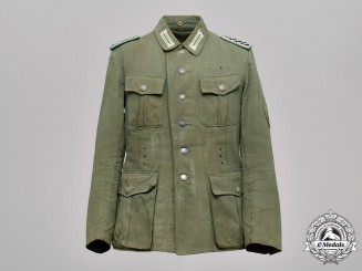 Germany, Ordnungspolizei. A Protection Police Summer Field Blouse