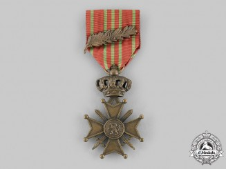 Belgium, Kingdom. A War Cross for the First War, c.1915