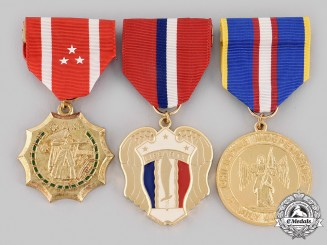 Philippines, Republic. Three Medals & Decorations
