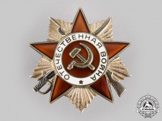 Russia, Soviet Union. Order of the Patriotic War, II Class, c.1985