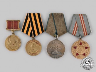 Russia, Soviet Union. Four Second War Awards