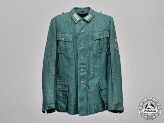 Germany, Ordnungspolizei. A Protection Police EM/NCO Summer Field Blouse