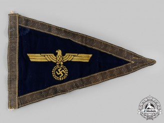 Germany, Kriegsmarine. An Admiral's Car Pennant