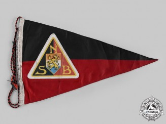 Netherlands, NSB. A National Socialist Movement (NSB) Pennant