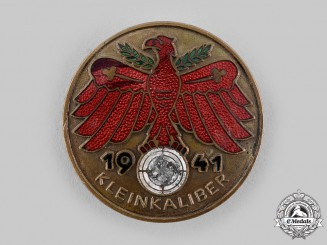 Germany, Third Reich. A 1941 Tirol Small Calibre Marksmanship Badge