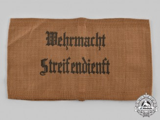 Germany, Wehrmacht. A Patrol Service Armband