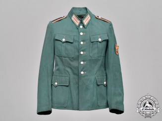 Germany, Ordnungspolizei. A Rural Constabulary Wachtmeister Field Blouse
