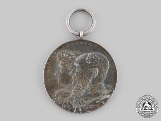 Schaumburg-Lippe, Principality. A Silver Wedding Medal, c.1910