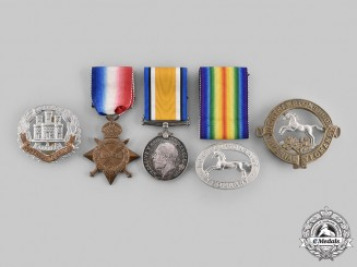United Kingdom. A Northamptonshire Medal & Badge Grouping
