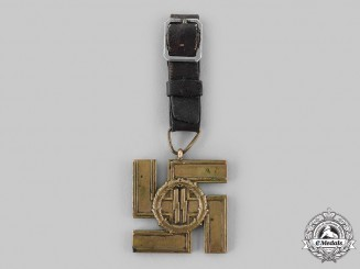 Germany, SS. A SS Long Service Medal, I Class for 25 Years