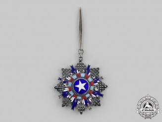 China, Republic. An Order of The Brilliant Star, II Class Commander, c.1940