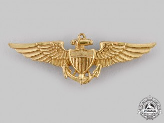 United States. Naval Aviation Pilot Badge c. 1944