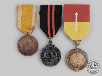 Finland, Vatican, Vietnam. Three Medals & Awards