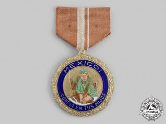 Mexico. A Civil Defence Medal for Patriotic Enthusiasm, c.1943