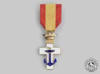 Spain, Fascist State. An Order of Naval Merit, I Class Cross, c.1950