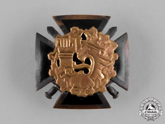 Finland, Republic. An Army Officers School Graduation Badge