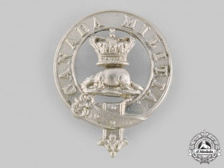 Canada, Dominion. A Militia Officer's Glengarry Badge c.1860