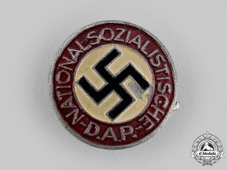 Germany, NSDAP. A Membership Badge, by Biedermann & Co.