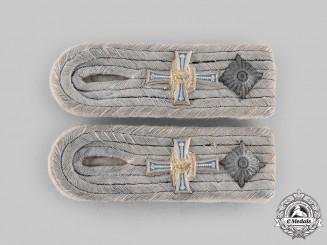 Germany, Heer. A Set of 134th Infantry Regiment Oberleutnant Shoulder Boards